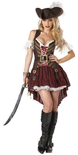 California Costumes Womens Sexy Swashbuckler Pirate Theme Party Halloween Dress