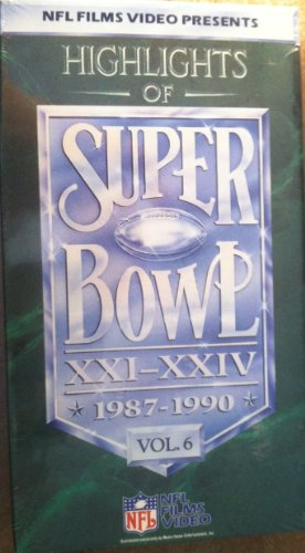 Super Bowls 21-24:Vol.6 [VHS] (Super Bowl 23 compare prices)