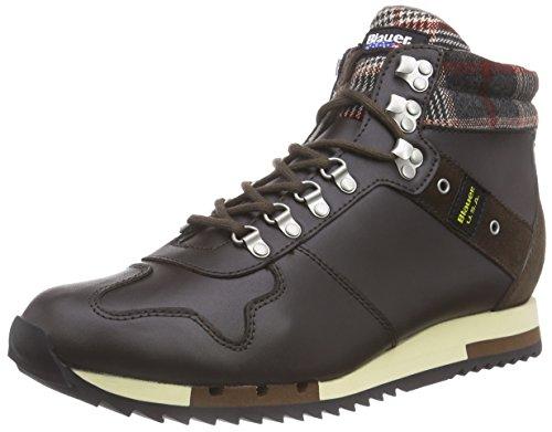 Blauer USARUNMID/TAR - Sneaker uomo , Marrone (Marrone scuro (Dark Marrone)), 40