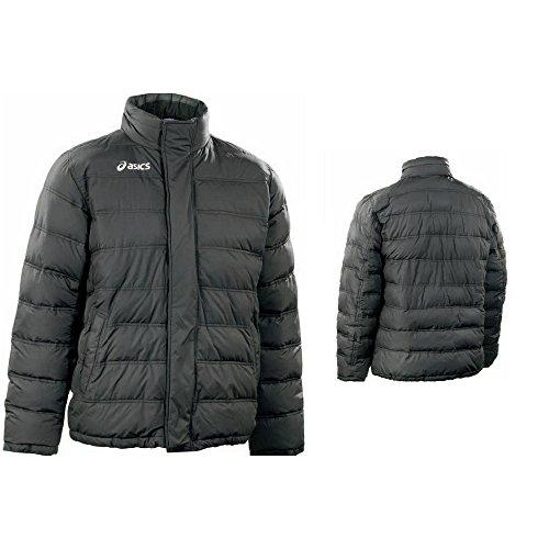 ASICS Giacca piumino sportiva junior cappuccio full zip FREYD nero T617Z2