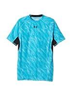 Under Armour Camiseta Técnica Heatgear Printed (Azul)