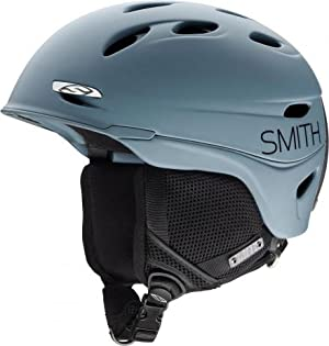 Smith Optics Transport Adult Ski Snowmobile Helmet , Steel Blockhead