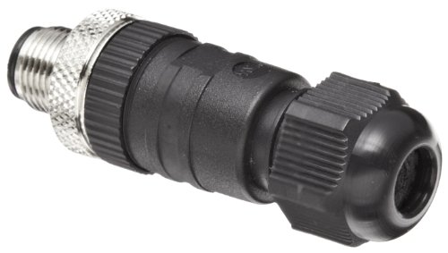 Testo 0554 6682 Plug Connection M12 5-Pin Plug and Socket for Signal/Supply Humidity Transmitters