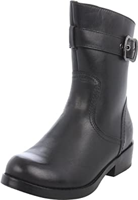 Harley-Davidson Women's Valeria Motorcycle Boot,Black,5 M US