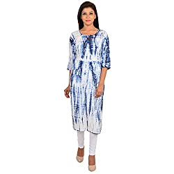 Shree Ram Impex Rajasthani Traditional Cotton Jaipuri Tie n dye kurti
