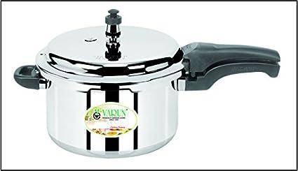 Varun-Universal-52601-Aluminum-3-L-Pressure-Cooker-(Outer-Lid)