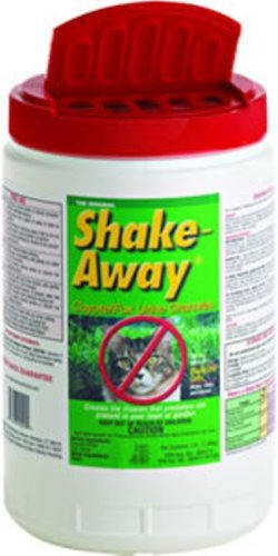 Shake Away 3-Pound Cat Repellent Granules Fox & Coyote Urine 3002003