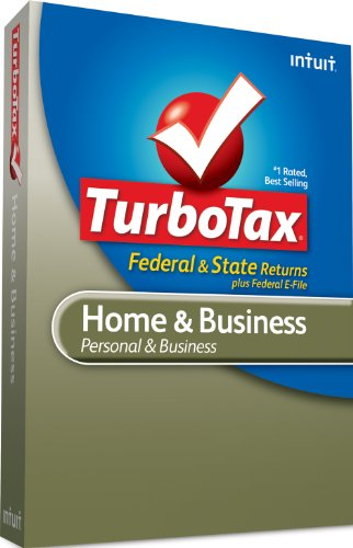 TurboTax Home & Business Federal + e-File + State 2010 – [Old Version]
