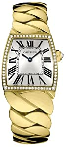 Cartier La Dona Diamond 18kt Yellow Gold Large Ladies Watch WE60020H