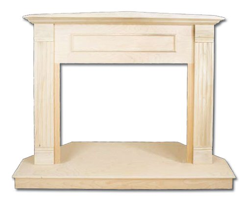 Comfort Flame C36TU Traditional Design Unfinished Fireplace Corner Mantel, 36-Inch photo B00EHN2RQQ.jpg