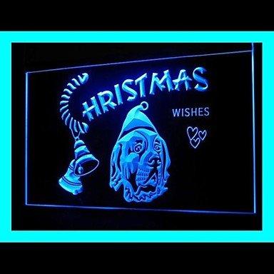 Dog Merry Christmas Advertising Led Light Sign