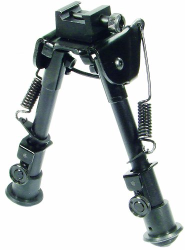 UTG Tactical OP Bipod - SWAT/Combat Profile Adjustable Height