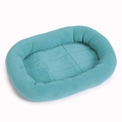 Slumber Pet Bright Terry 17 By 11-Inch Dog Crate Bed Mat, X-Small, Turquoise front-152320