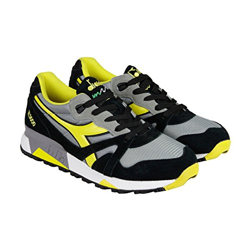 diadora-n9000-nyl-mens-gray-yellow-suede-synthetic-lace-up-sneakers-shoes-8