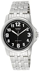 Casio Enticer Analog Black Dial Mens Watch - MTP-1216A-1BDF (A355)