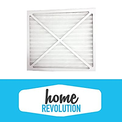 Hunter 30930 Home Revolution Brand Air Purifier Filter; Replacement Made To Fit Hunter Models 30200, 30201, 30205, 30250, 30253, 30255, 30256, 30350, 30374, 30375, 30377, 30380, 30390, 37255 & 37375