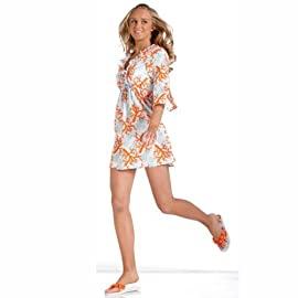 Mud Pie Color Me Coral Tunic - Small