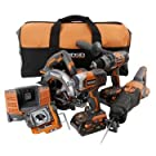 Factory-Reconditioned Ridgid ZRR9651 5-Piece 18V X4 Cordless Combo Kit