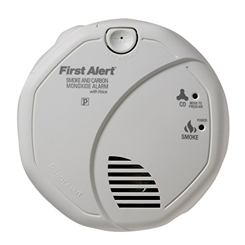First Alert Sc07Cn Battery Operated Combination Smoke/Carbon Monoxide Alarm With Voice Location