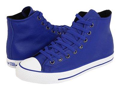 91eb16566ca8 Converse Chuck Taylor All Star Hi Top Royal Blue Leather 115640 men s 10