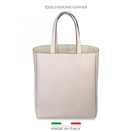 Made In Italia Amanda, Borsa a spalla donna beige Sabbia