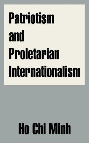 Patriotism and Proletarian Internationalism