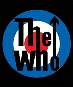 The Who Logo Fleece Throw Blanket or Afghan