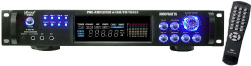 Review Pyle P3001AT 3000W Hybrid Pre Amplifier with AM/FM Tuner