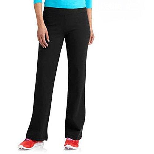 danskin-now-petite-womens-dri-more-bootcut-pants-yoga-fitness-activewear-petite-xx-large-black