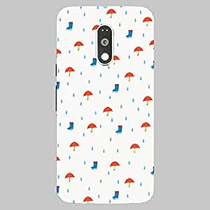 Back Cover for Moto G Plus (4th Gen) rain elements