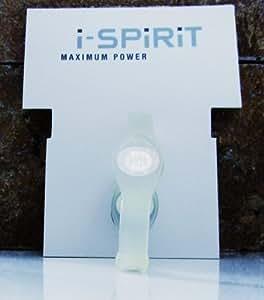 i-spirit balance bracelet amour hologramme pour santé, bonheur, amitié, couleur: Transparent, taille: L=19cm unisexe - fitness loisirs sport bien-être