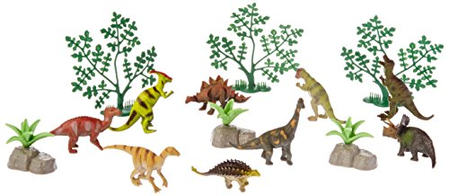 World Animals Dinosaur Bucket Action Figure