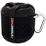 StrongVolt Rage - Water-Resistant Wireless Bluetooth Speaker - Black