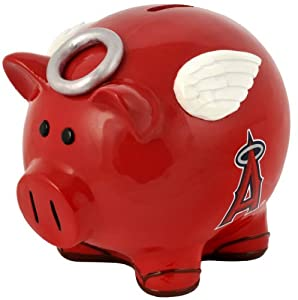 Los Angeles Angels of Anaheim Piggy Bank - Thematic Large by Unknown
