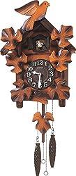 RHYTHM(リズム時計) 【本格的ふいご式】 カッコーメイソンR 《日本組立》 濃茶ボカシ木地仕上 4MJ234RH06