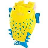 Trunki PaddlePak Water-Resistant Backpack - Spike the PufferFish (Yellow)