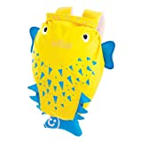 Trunki PaddlePak Water-Resistant Backpack - Spike the PufferFish (Yellow)