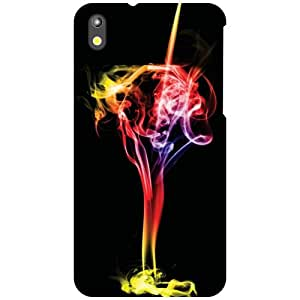 HTC Desire 816G Back Cover - Splash of color Designer Cases