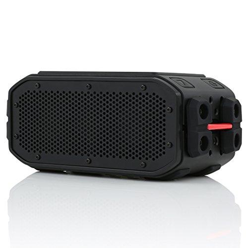 Braven BRV-Pro HD Outdoor Bluetooth Lautsprecher [Wasserdicht nach IPX7 | Akku zum Laden von Smartphones | 2.200mAh | 15 Stunden Musik-Wiedergabe | Mikrofon zum Freisprechen] - BPROBRB
