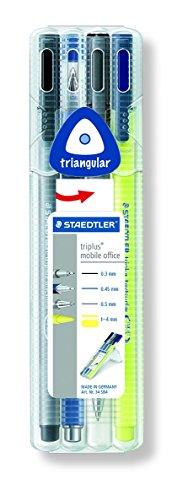 STAEDTLER 34 SB4 - Pack de 4 rotuladores