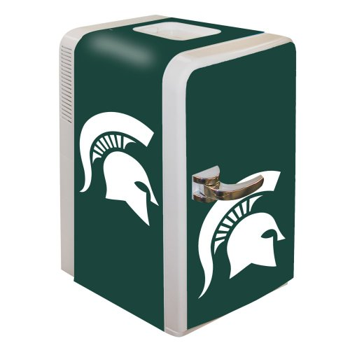 Ncaa Michigan State Spartans Portable Party Fridge, 15-Quart front-544510