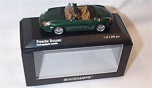 minichamps-porsche-boxster-in-metallic-green-2002-car-143-scale-limited-edition-diecast-model