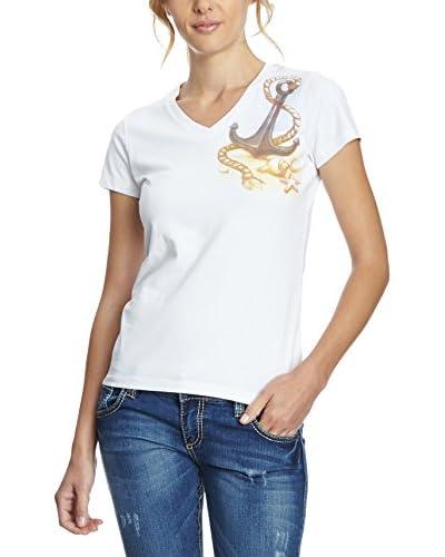 Galvanni T-Shirt Tarra weiß S
