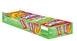 Skittles & Starburst Variety Pack, 25-Count Package