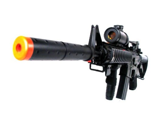 MetalTac® M4 Carbine RIS Electric Airsoft Gun 10000 bb Two