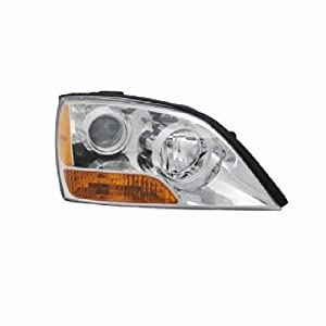 OE Replacement Kia Sorento Passenger Side Headlight Assembly Composite (Partslink Number KI2503134)