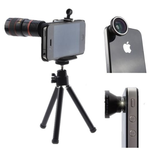 AGPtek 4 in 1 Camera Lens Kit