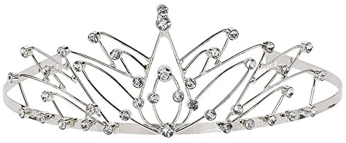 Royal Princess Metal Tiara with Faux Jewels (1/pkg.)