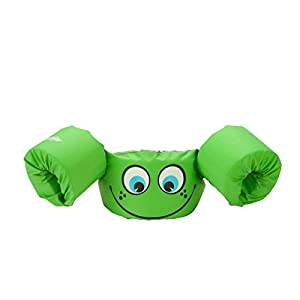 Stearns Puddle Jumper Basic Life Jacket, Green Smile, 30-50 lbs