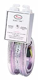 Dwyer Slack Tube Series 1211 Handy Roll-Up Manometer, Pressure Range 12-0-12\